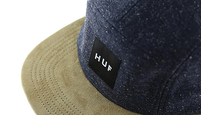 Casquette five panel huf