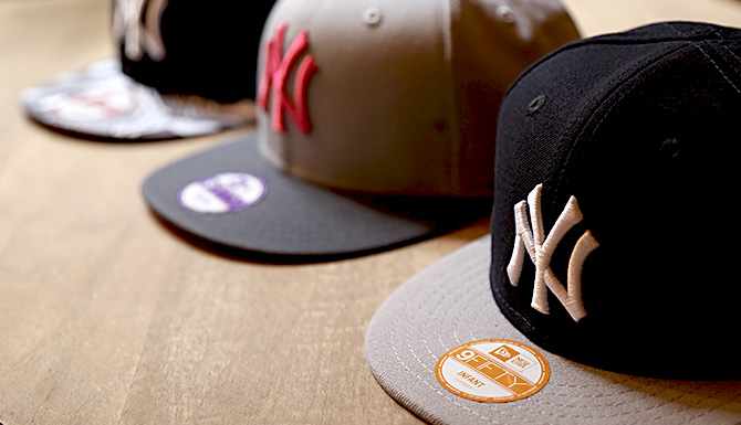casquettes ny enfant