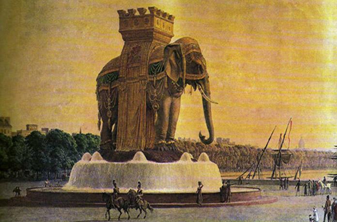 Elephant Gavroche Victor Hugo