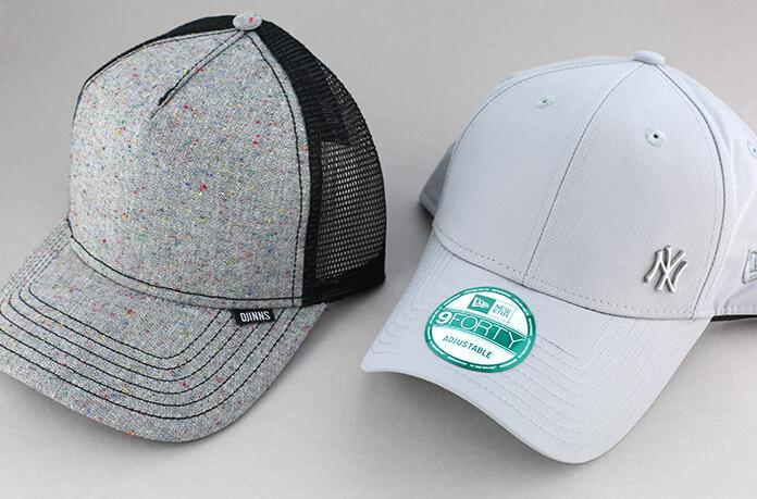 casquettes minimalistes