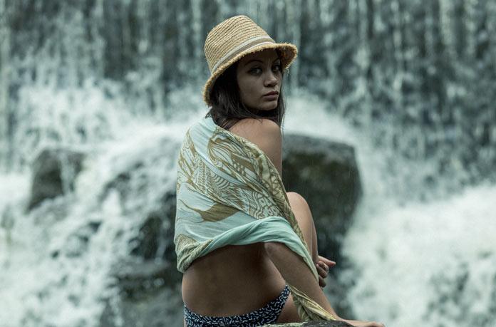 chapeau de paille safari