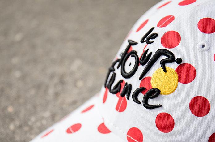 casquette maillot à pois tour de France